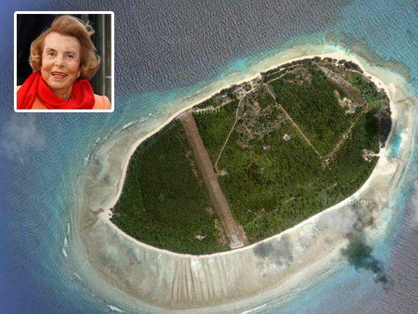 France's richest woman, Liliane Bettencourt: Her Private Seychelles Island