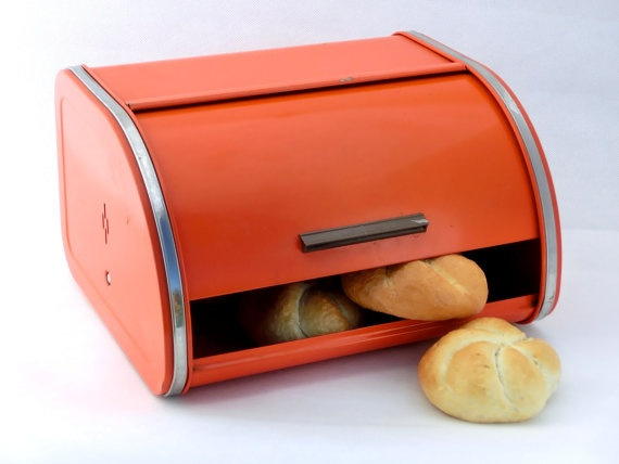 I think every house had a bread box on the counter in the 50's and 60's