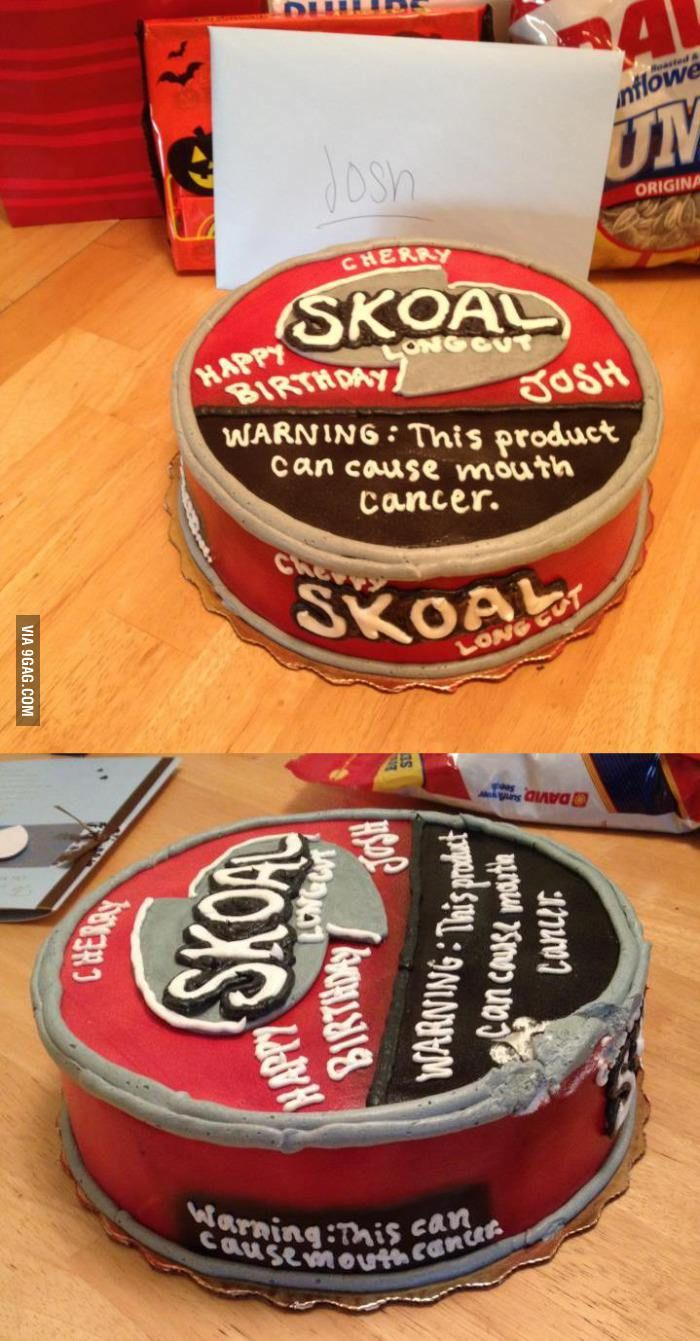 Redneck Birthday Cakes | 9GAG - Redneck Birthday Cakes Cause Cancer or just to make for my husband who uses this nasty stuff