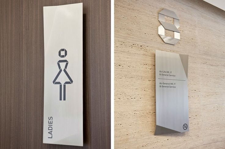 paragon toilet sign system