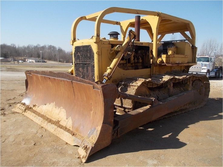 #ThrowbackThursday Check out this 1970 Caterpillar D8H. View more #Dozers at http://www.rockanddirt.com/equipment-for-sale/dozers-crawler-tractors #RockandDirt #tbt #HeavyEquipment