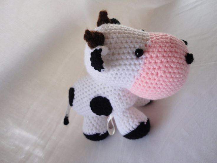 Amigurumi Cowco : Amigurumi Amigurumis Pinterest Inspiration, Cow and ...