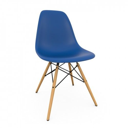 Eames DSW Chair New Height Navy Blue at Heal's