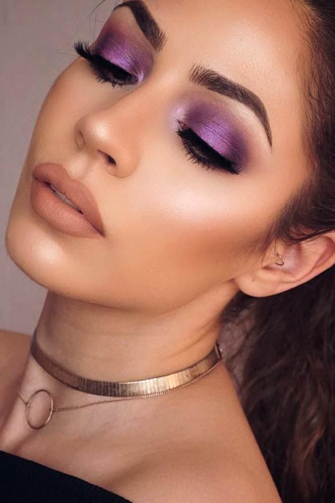 Mount And Blade Prom Makeup Looks For Purple Dress