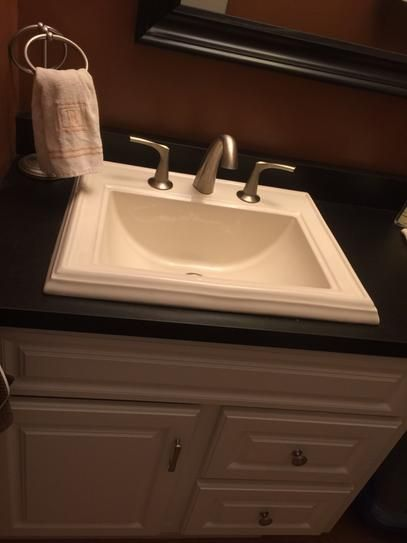 Blue Bathroom Drop In Sinks: 25+ Best Ideas About Drop In Bathroom Sinks On Pinterest