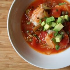 Bacalao Fish Stew - This soup, popular in Puerto Rico, is easy, and brimming with complex flavors. Capers and oregano suggest a Mediterranean twist while the cilantro hints at Mexico or Latin America. The stew is a beautiful blend of cultures and tastes, emblematic of the flavors of the island itself.