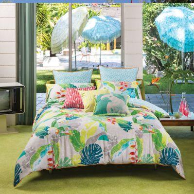 Zia Quilt Cover & Pillowcase Set by Kas | shopinside.com.ua
