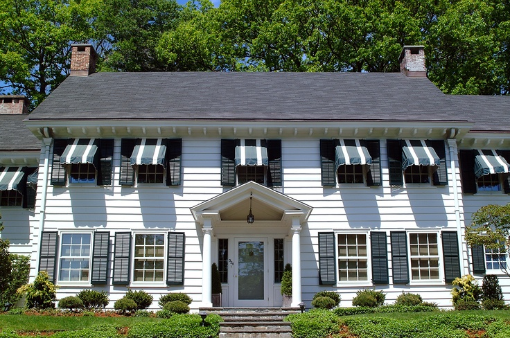 Residential Window Awnings Keep Your House 25 Cooler