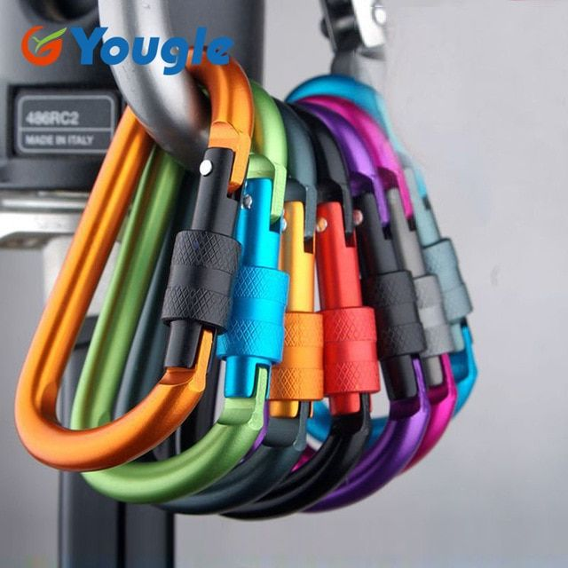 Mountaineering Hook Camping Equipment Alloy Aluminum Survival Gear Camp 6A