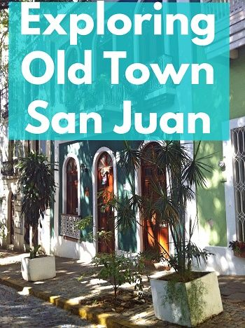 If you are going to San Juan in Puerto Rico, you cannot miss Old Town. The streets are stunning and it's a great place to wander and grab a bite to eat.