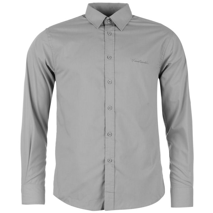 Pierre Cardin   Pierre Cardin Long Sleeve Shirt Mens   Mens Shirts