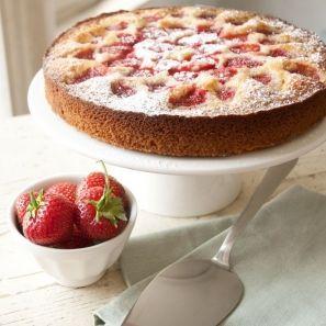 Recept - Aardbeiencake - Dille & Kamille - met Zonnigfruit