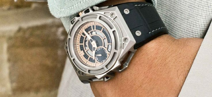 Limited Edition Linde Werdelin - SpidoLite II Titanium Gold US | Press Releases | Watch You Go
