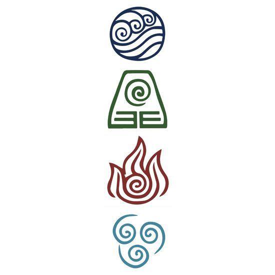 Avatar Four Elements by Daljo