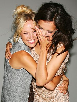 We should do this one!!  Cute maid of honor and bride picture while they get ready :)