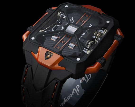 Marko Petrovic watch inspired by the Aventador