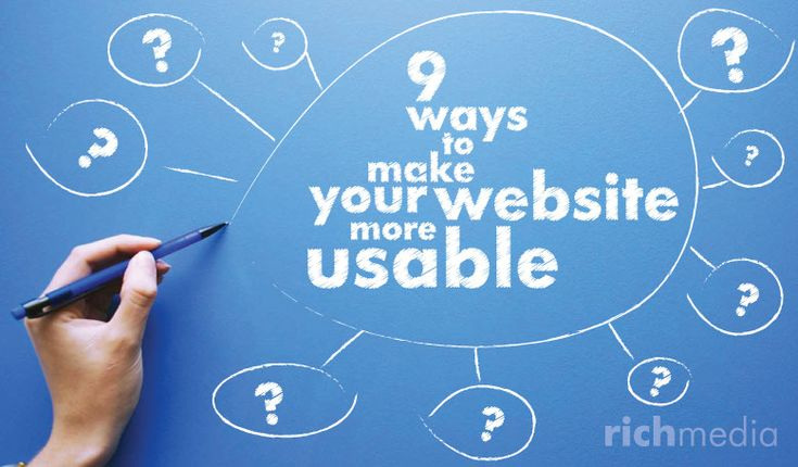 Here are 9 easy ways to improve your website's #usability. #ux