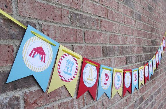 First Birthday Banner - etsy