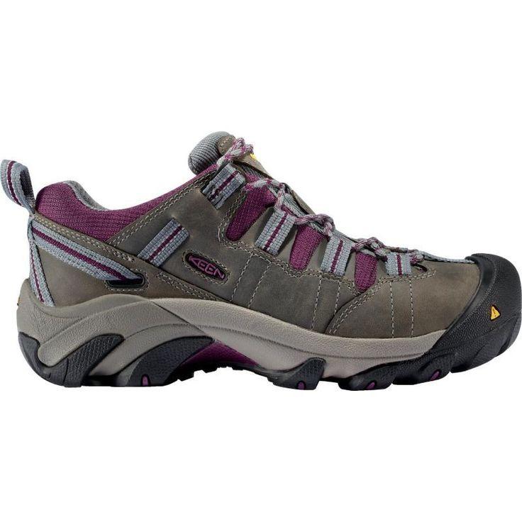 Keen Women's Detroit Steel Toe Work Shoes, Gray