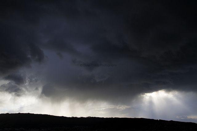 Porirua storm | © Elyse Childs Photography