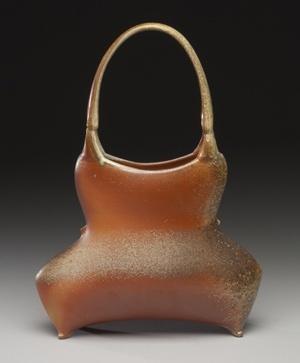 Tara Wilson | 'Basket'.  Wood fired ceramic