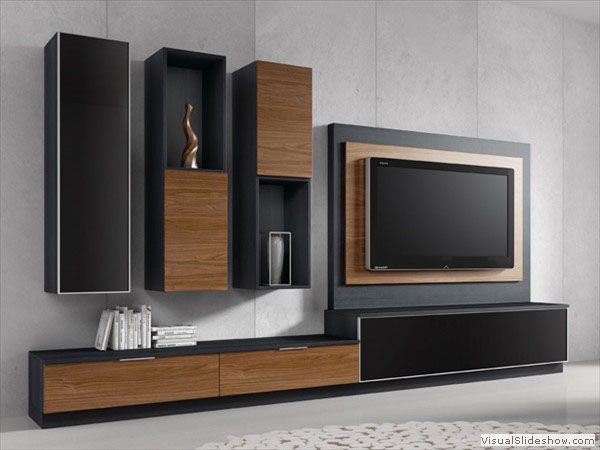 25 best muebles para tv modernos ideas on pinterest - Muebles modernos para tv ...