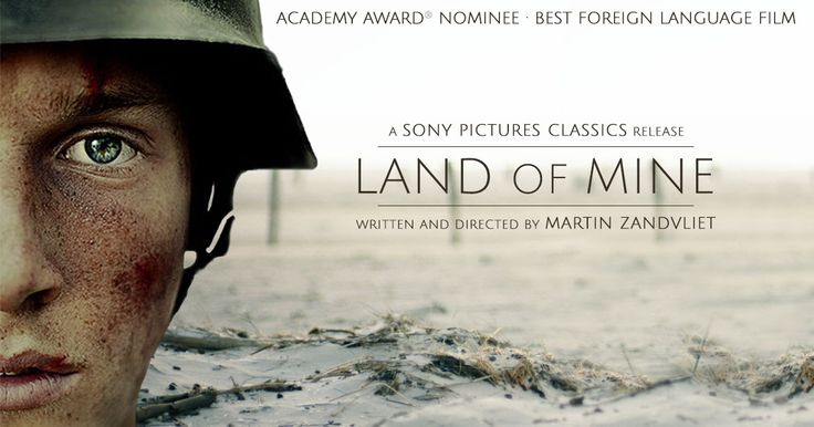 Academy Award Nominee - Best Foreign Language Film | As World War Two comes to an end, a group of German POWs, boys rather than men, are captured by the Danish army and forced to engage in a deadly task - to defuse and clear land mines from the Danish coastline. With little or no training, the boys soon discover that the war is far from over. Inspired by real events, LAND OF MINE exposes the untold story of one tragic moment in post-war history.