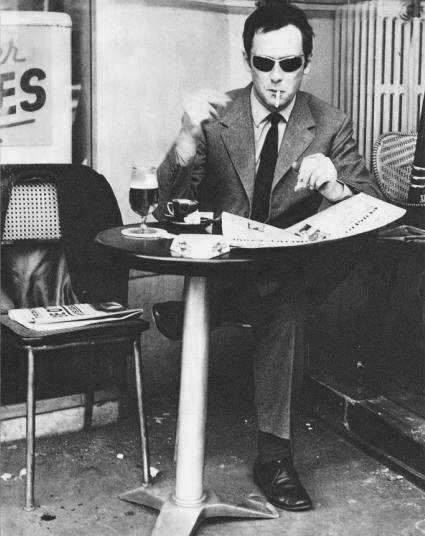 Maurice Ronet à Montmartre, 1965