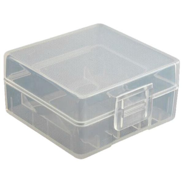 uxcell Soshine Battery Case Holder Storage Container for 2 x 18350 Batteries