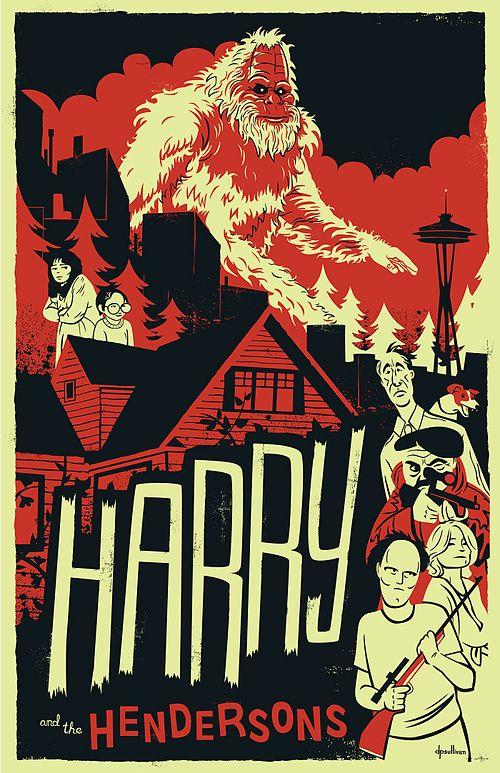 Harry and the Hendersons Poster - dpsullivan