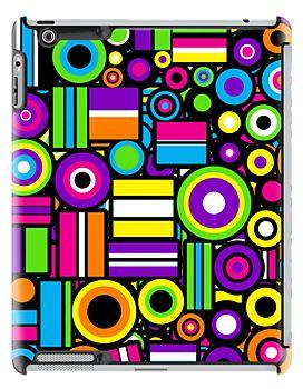 Licorice Allsorts II [iPad / iPhone / iPod case] by Damienne Bingham