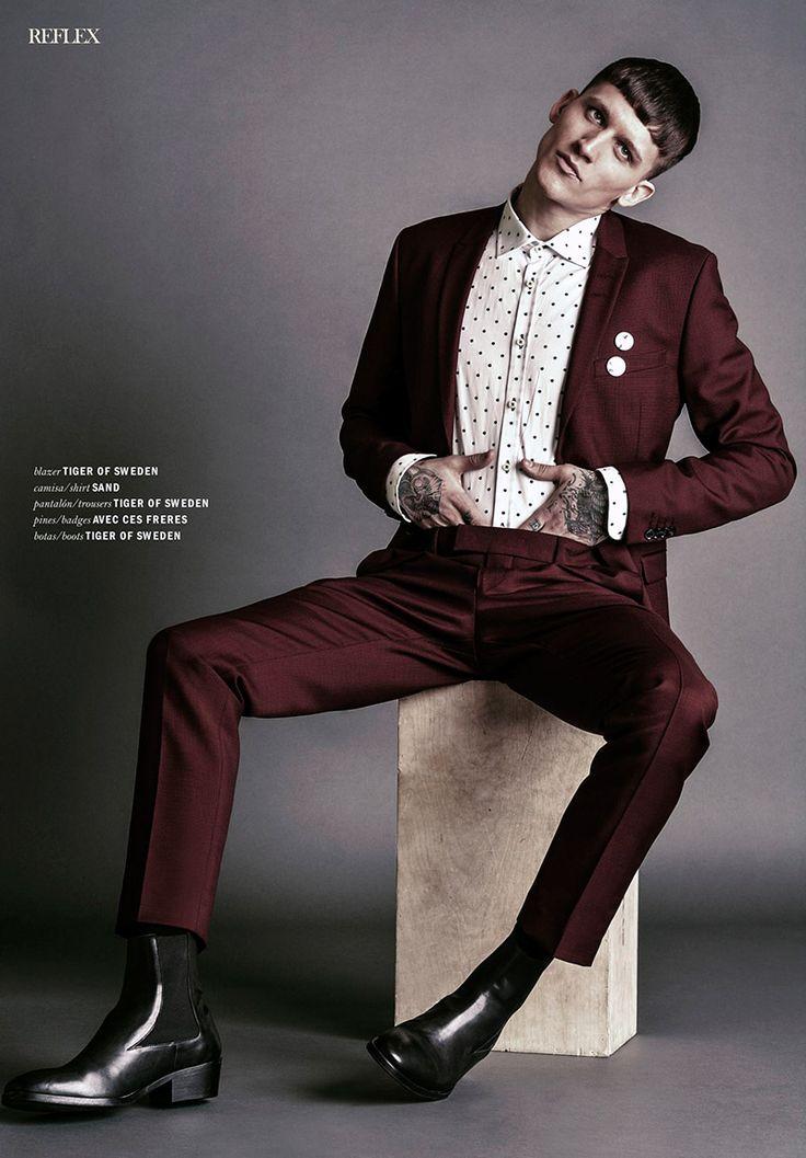 Leebo Freeman by Horacio Hamlet for Reflex Homme Magazine