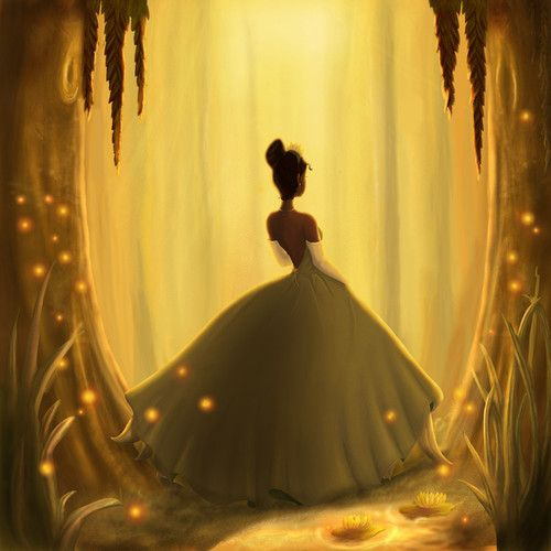 Day 14: Favorite outfit. Tiana's dress at the end of Princess and the Frog:)