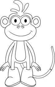immagini di scimmie da colorare 9.jpg (179×281)