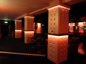 Booth Seating & Banquette Seating for Club One in Ascot