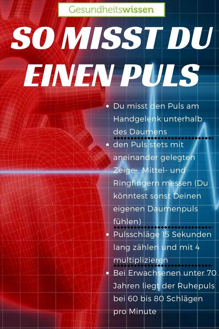 Den Puls zu messen ist eine der wichtigsten Diszip…