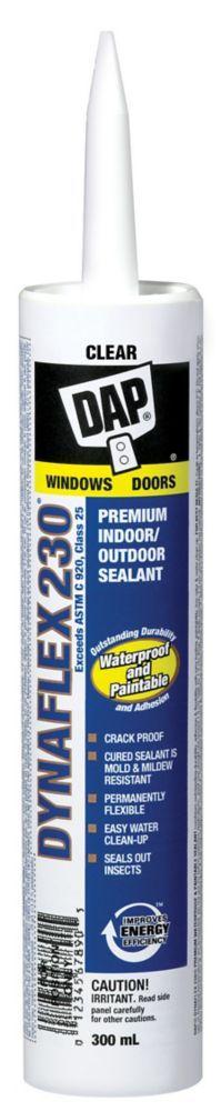 300ML, Clear, Dynaflex 230 Premium Elastomeric Sealant
