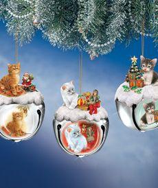 Ёлочные игрушки - Бубенцы Кошки