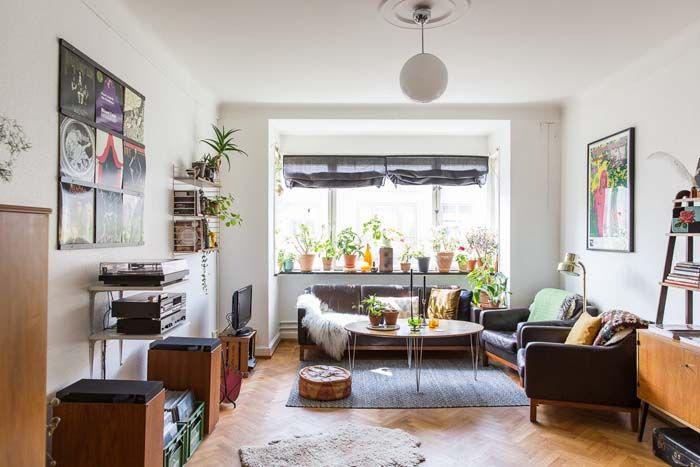 184 melhores imagens de living rooms no pinterest for Sala de estar kawaii