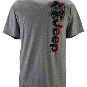 Short Sleeved Jeep Wrangler Graphic T-Shirt