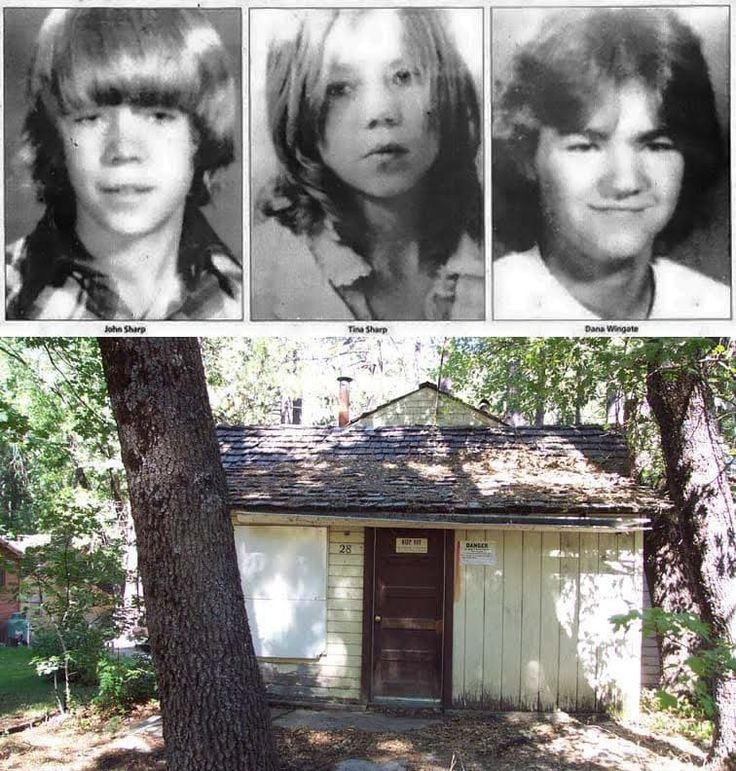 The Keddie Murders Keddie, CA: When 14-year-old Sheila Sharp returned to her family's cabin from spending the night at a friend's nearby she stumbled upon a grizzly scene. She found her brother, her brother's girlfriend & Sheila's mother bludgeoned to death inside. Her 12-year-old sister Tina was missing. Three years later, Tina's skull was found 60 miles from the cabin, however the killers have never be apprehended.