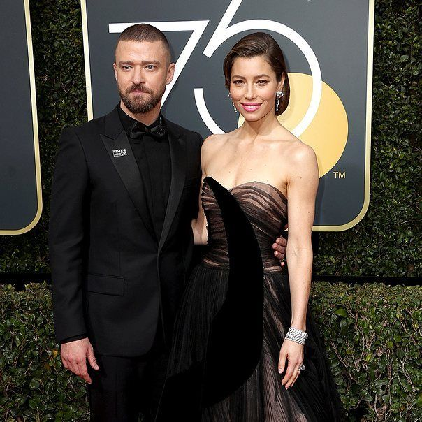 Justin Timberlake y Jessica Biel nos dieron #relationshipgoals ayer. No te pierdas los mejores momentos de los #GoldenGlobes en gq.com.mx I Foto: Getty Images