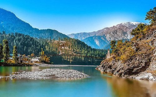 neelam valley and azad kashmir in pakistan image
