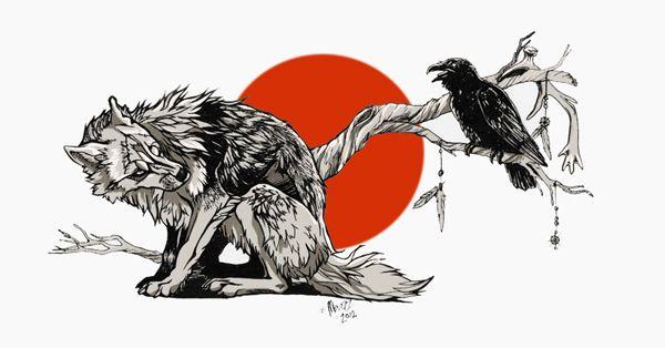 Dongeng Anak Anak | Serigala Dan Burung Gagak | Kumeok Memeh Dipacok
