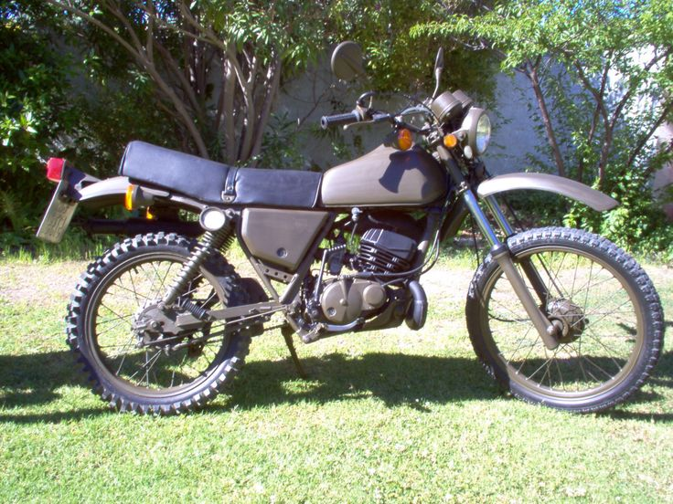Kawasaki KE175, stage 1 modification