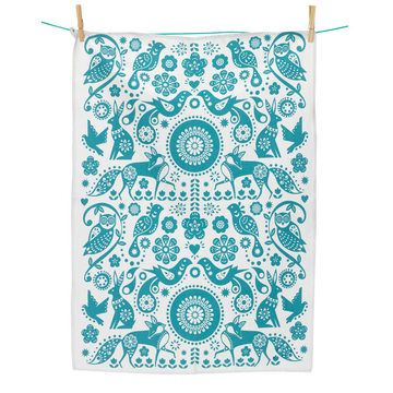 Folklore Tea Towel by Wild & Wolf