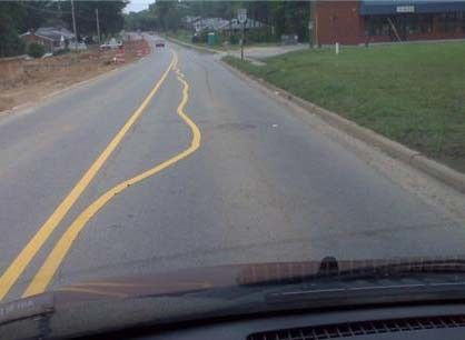 Do NOT cross those lines.