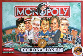 Coronation Street Monopoly!!! ARE YOU FREAKIN' KIDDING ME!!! I NEED THIS!!!!