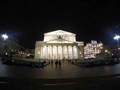 Bolshoi theater in Moscow, truely impressive!