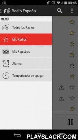 RADIO ESPANA PRO  Android App - playslack.com , Escuchar emisoras de radio de España en tu móvil.Para más estaciones , me acaba de enviar un correo electrónico una añadiré en la próxima actualización .Encuentra las siguientes estaciones :- Loca FM España- Maxima España- Los 40 Principales España- es Radio España- Europa FM España- Kiss FM España- Flaix FM España- Onda Cero España- Cadena 100 España- m80 España- Cadena Dial España- Cadena SER España- Rock FM España- Rock Rock Radio- RNE Radio…